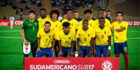 Ecuador será sede del Sudamericano Sub-17 en el 2021