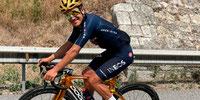 Richard Carapaz usará la bicicleta Pinarello dorada en la Vuelta a España
