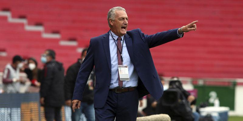 """Gustavo Alfaro: """"Nosotros queremos hacer una buena Copa América"""""""