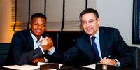 FC Barcelona mejora el contrato y amplía la cláusula de Ansu Fati