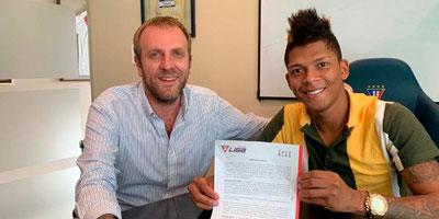 OFICIAL: Billy Arce ya es jugador de Liga Deportiva Universitaria
