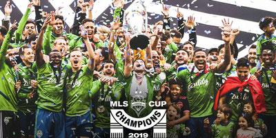 Xavier Arreaga campeón con Seattle Sounders en la MLS