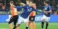 Atalanta clasificó a octavos de final de Champions League