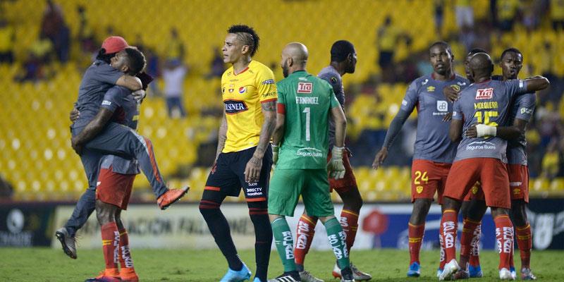 Aucas eliminó a Barcelona y clasificó a semifinales de Liga Pro Ecuador