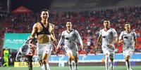 Manuel Balda anotó y rescató un empate para Atlas