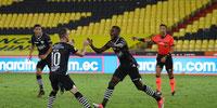 Barcelona SC venció 2-1 a Delfín SC en su aniversario