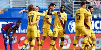 FC Barcelona goleó al Eibar por la Liga Española