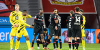 Bayer Leverkusen venció a Borussia Dortmund