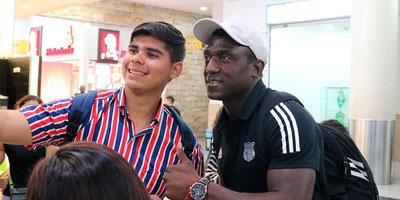 Emelec llegó a Guayaquil luego de realizar la pretemporada