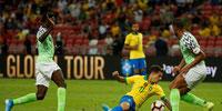 Brasil no pasó del empate ante Nigeria en amistoso internacional