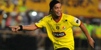 Ronaldinho lloró en la Noche Amarilla